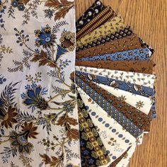 jo+morton+little+women | Savannah, blue:brn | JoMortonQuilts.com