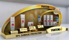 Pantene Counter Top Display by kristine grimaldo, via Behance