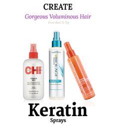 sprays for keratin treated hair