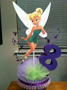 Can this be for the stage? Birthday Centerpieces, Birthday Party Decorations, Party Themes, Birthday Party At Park, Disney Birthday, Enchanted Forest Party, Tinkerbell Party, Cup Crafts, Party In A Box
