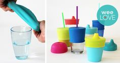 Put a Lid on It Turn any cup into a sippy cup. Spill-proof cup lid provides an airtight seal over any cup without handles. weeLove: Put a Lid on It My Baby Girl, Baby Love, Baby Gadgets, Cool Baby Stuff, Kid Stuff, Random Stuff, Baby Gear, Future Baby, Just In Case
