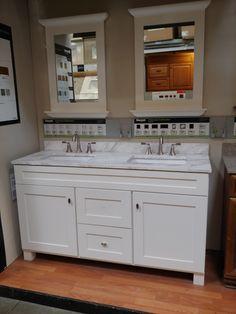 Double Vanity, Bathroom Ideas, Double Sink Vanity