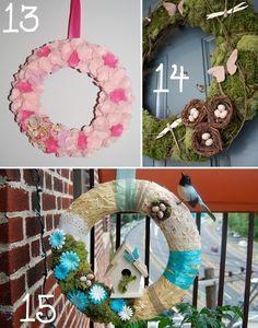 The Scrap Shoppe: 15 Spring Wreath Ideas
