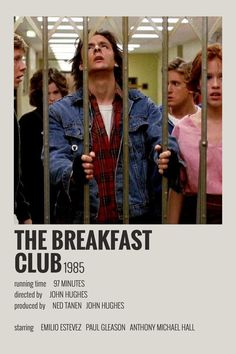 Alternative Minimalist Movie/Show Polaroid Poster - The Breakfast Club Iconic Movie Posters, Minimal Movie Posters, Iconic Movies, Good Movies, Classic Movies, Sherlock Poster, George Peppard, Ray Charles, Series Poster