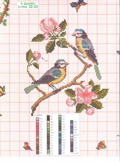 Gallery.ru / Фото #171 - 197 - Mosca 123 Cross Stitch, Cross Stitch Cards, Simple Cross Stitch, Cross Stitch Animals, Cross Stitching, Cross Stitch Embroidery, Embroidery Patterns, Wedding Cross Stitch Patterns, Easy Cross Stitch Patterns