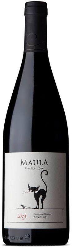 """Maula Pinot Noir Oak"" 2010 - Bodega Margot, Tupungato, Mendoza--------------------------- Terroir: Cordón del Plata (Tupungato)"