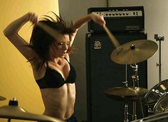Top 9 Female Drummers in L.A. (Also the Hottest) - West Coast Sound - CHERYL CADDICK - good for you girl!!!!