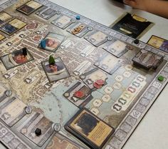Random Sunday Gaming: Lords of Waterdeep! I won with 154 points!