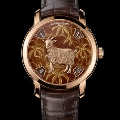 Vacheron Constantin Celebrates 2015 Year of the Goat With A Limited Edition.