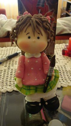 adorable little girl doll