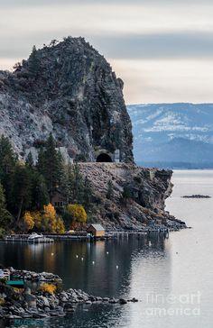 Cave Rock, Lake Tahoe – Nevada State Park