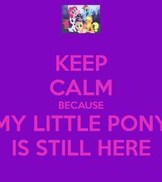 my little pony keep calm - Google Search