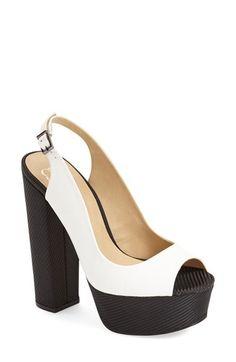 gx by Gwen Stefani 'Rich' Platform Peep Toe Sandal (Women) | Nordstrom