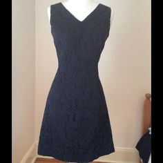 Anthropologie Tracy Reese Crochet LBD.. Size Small Elegant! Anthropologie Dresses