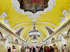 Moscow+Metro komosomolskaya