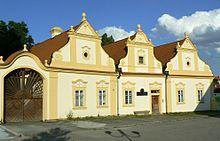 Folk baroque in Stod (West Bohemia), Czechia