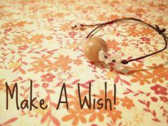 Adjustable Wish for Love Bracelet peach by EmilysReikiBracelets