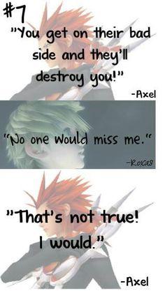 Kingdom Hearts - Axel and Roxas