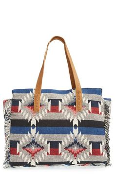 Sole Society Woven Geometric Tote (Nordstrom)