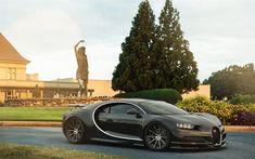 Download wallpapers Bugatti Chiron, tuning, 2017 cars, Forgiato Wheels, carbon Chiron, Bugatti