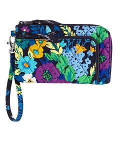 Loving this Midnight Blues Zip Zip Wristlet on #zulily! #zulilyfinds