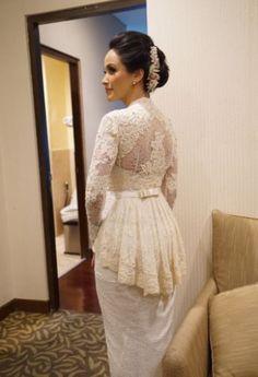 Kebaya Peplum, Vera Kebaya, Kebaya Lace, Kebaya Hijab, Kebaya Brokat, Kebaya Muslim, Model Kebaya Modern, Kebaya Modern Dress, Kebaya Wedding