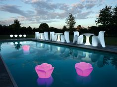 www.myyour.eu Outdoor Furniture - BABY LOVE lamps - LILY chairs - TEDDY tables
