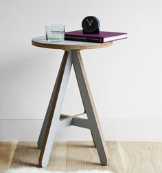 A beautiful modern classic piece of British furniture design. The A Stool from ByALEX is a truly covetable piece of flat pack design that works well as a dining stool or in a hallway or kitchen as an occasional stool or as a simple but effective side tabl
