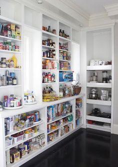 Organized Kitchen Pantry Design Ideas                                                                                                                                                                                 More