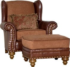 Mayo 321 Chair and ottoman