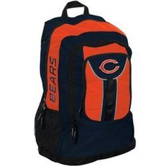 Chicago Bears Colossus Style Black Back Pack
