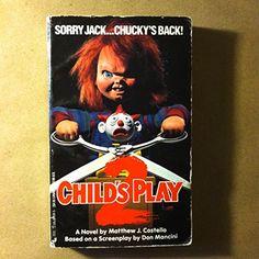 Child's Play 2 by Matthew J. Costello http://www.amazon.com/dp/0515104345/ref=cm_sw_r_pi_dp_Wkltxb0DPF6KR