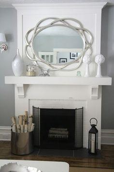 Living Room Mantle Keep it Beautiful Designs