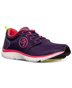 Zumba Women's Fly Print Training Sneakers from Finish Line