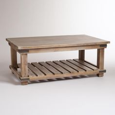"Cameron Coffee Table | World Market - 46""W x 28""D x 18.4""H, 47.2 lbs. $229.99"