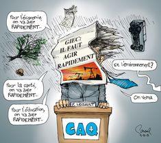 Le regard de notre caricaturiste Pascal sur l'actualité du jour. Caricatures, Comic Books, Crayon, Comics, Cover, Art, Photo Galleries, Environment, Politics