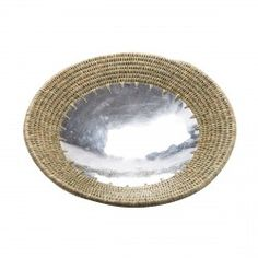 Aluminium and Grass Bowl - Small