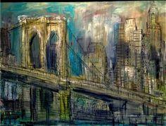 Brooklyn Bridge Opus 13_Oil on Canvas_30 x 40