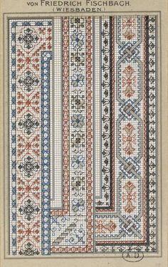 Gallery.ru / Фото #90 - старинные ковры и схемы для вышивки - SvetlanN