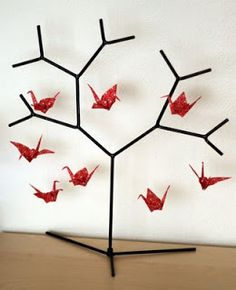 emuse: paper crafts ikea tree