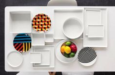 Rooftop, Techno, Floating Shelves, Picnic, Plates, Urban, Dishes, Google Search, Home Decor