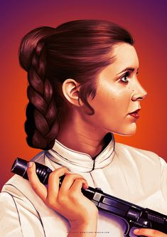 jpg by Flore Maquin - Star Wars Princesses - Ideas of Star Wars Princesses - Leia floremaquin Images Star Wars, Star Wars Pictures, Star Wars Film, Cuadros Star Wars, Leia Star Wars, Star Wars Princess Leia, Star Trek, Han And Leia, Star Wars Wallpaper