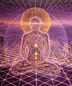 I think one of his paintings that has the chakras interpreted in it would be a great one as well.