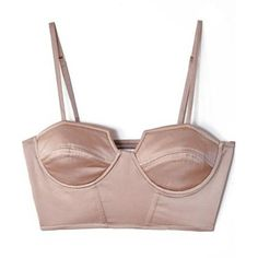Shakuhachi: Bronze Cropped Bustier