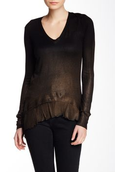 Charlie Long Sleeve Sweater by Young Fabulous & Broke on @nordstrom_rack