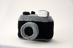Photo Camera - Vintage Lomo - Inspired by old Nikon, Lomo and Canon Cameras - Amigurumi - CROCHET PATTERN No.70