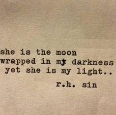 """She is my light"""