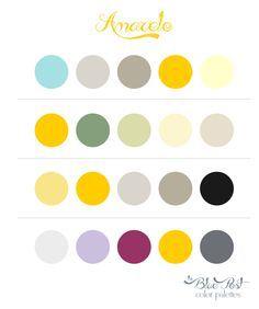 Paleta amarela e cinza 2