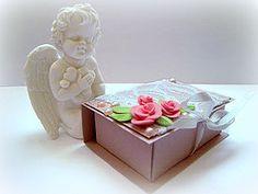 МК Шкатулочка из картона с двумя отделениями | Ярмарка Мастеров - ручная работа, handmade