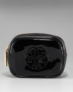 Patent Cosmetic Case, Small by Tory Burch at Neiman Marcus. $55.00